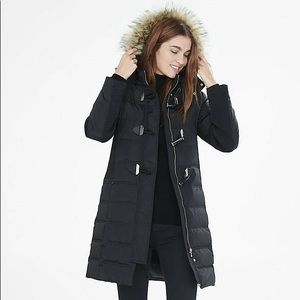Express down filled puff jacket
